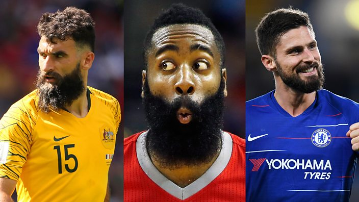 ffa4efecd6fc NBA star James Harden s love of beards extends to his Fifa Ultimate ...