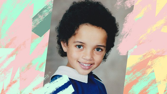 A school photo of Kelsey