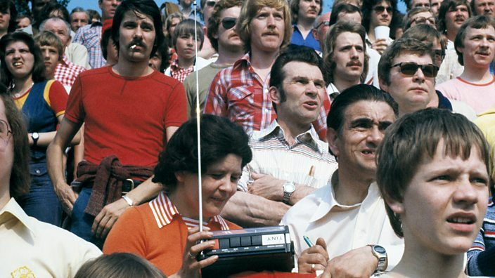 Football fans 1976