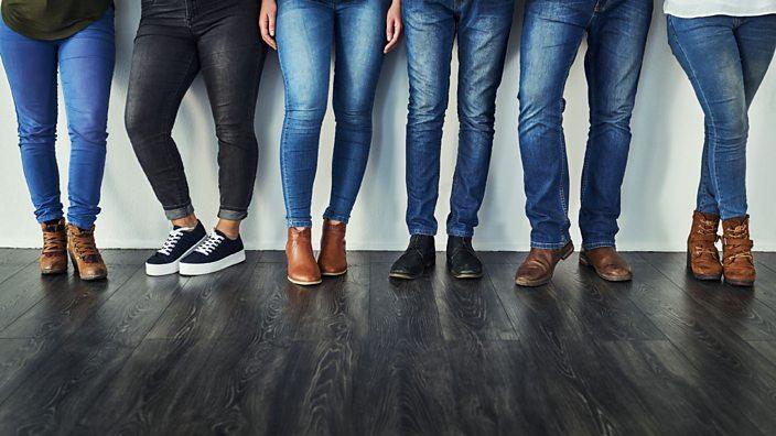 Jean wearing women