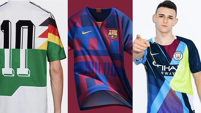 27c061380 Mash-up football shirts are definitely a thing now - BBC Three