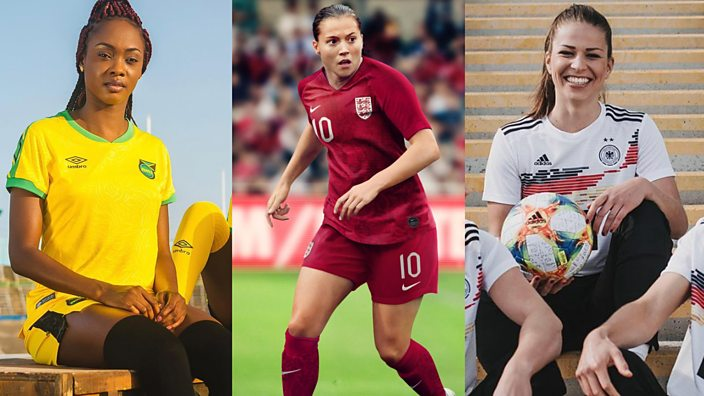 d981ba01474 The Women s World Cup kits have been released - and they look incredible