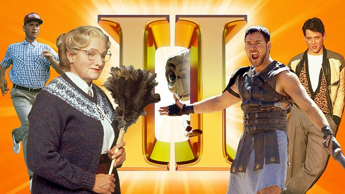 Movie Sequels: Forrest Gump, Mrs Doubtfire, ET, Gladiator, Ferris Bueller