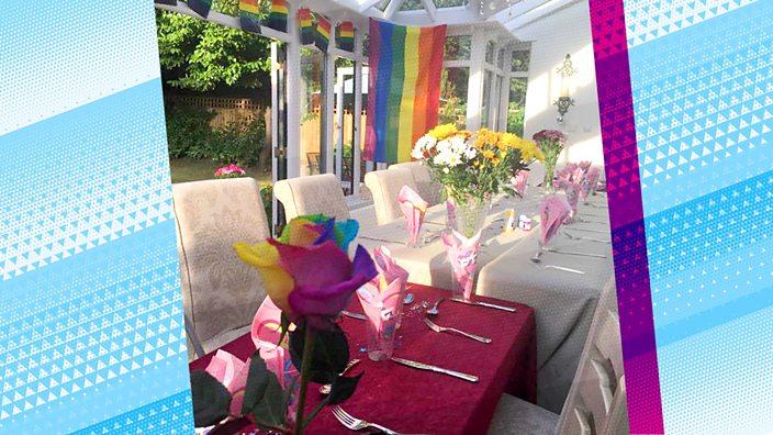 Pride themed Shabbat dinner