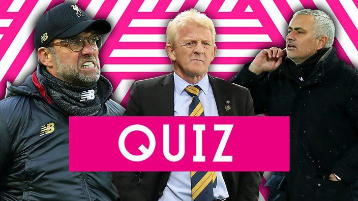 Jurgen Klopp, Gordon Strachan, Jose Mourinho