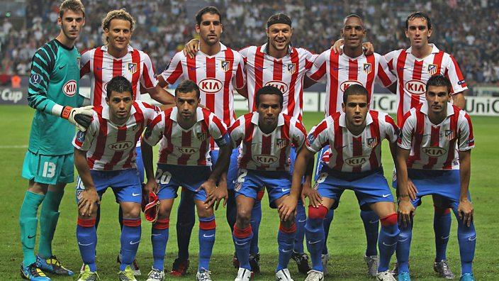 Atletico Madrid team 2010