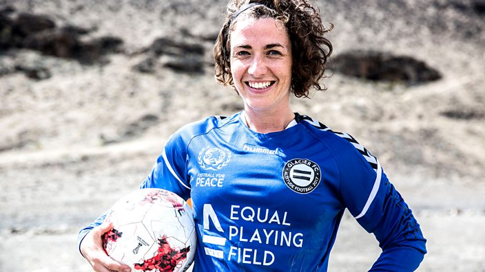 'I spend my time breaking world records to get women into football'