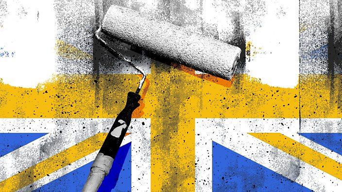 Whitewashing the union flag