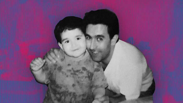 Tugay with his dad