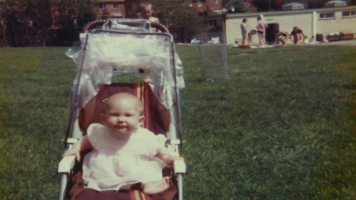 Gemma as a baby