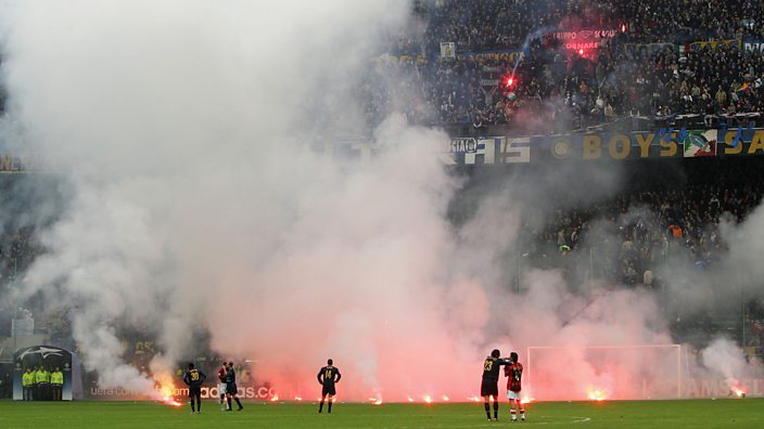 Inter Milan vs AC Milan, San Siro, 2005
