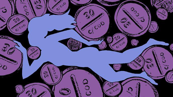 Purple painkiller image