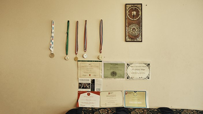 Waleed Medals and certificates
