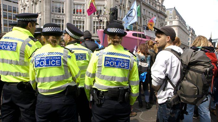 Protest Oxford Circus