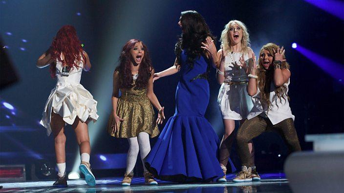 Little Mix X factor winners 20...