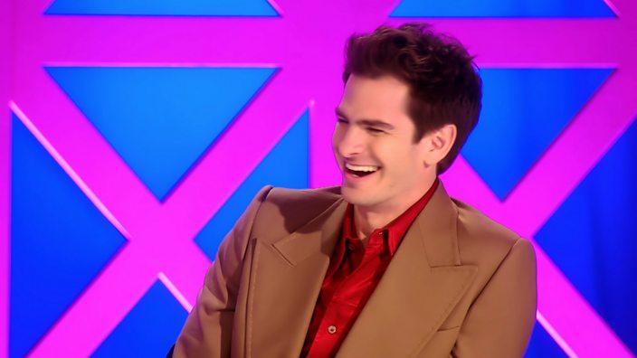 Drag Race UK episode 1 judge Andrew Garfield