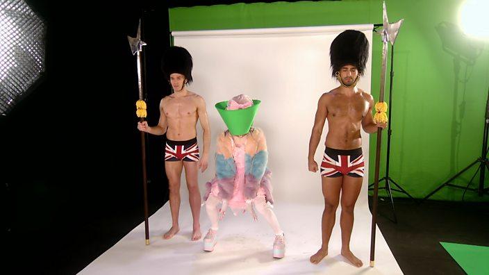 Drag Race UK episode 1 green screen challenge