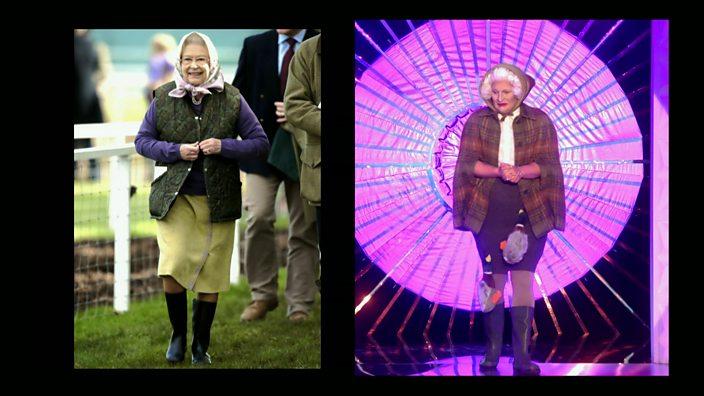 Drag Race UK episode 1 The Vivienne Queen costume