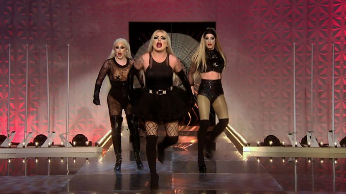Drag girl group The Frock Destroyers