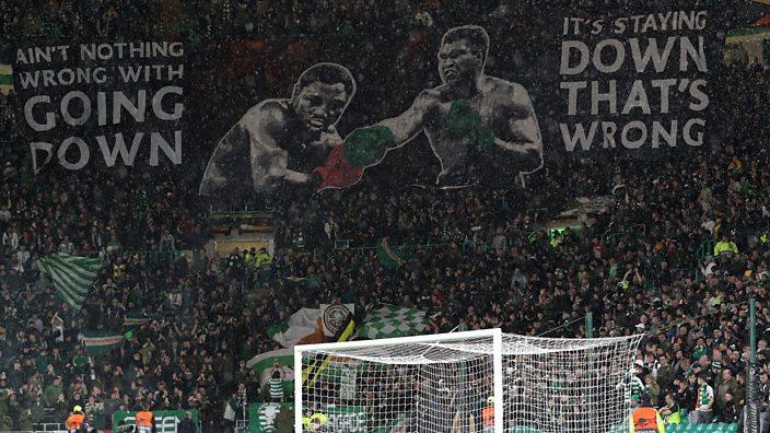 Celtic tifo