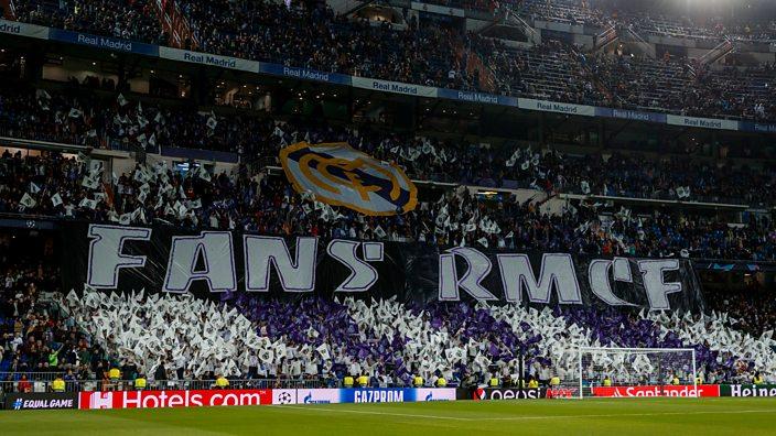 Real Madrid tifo