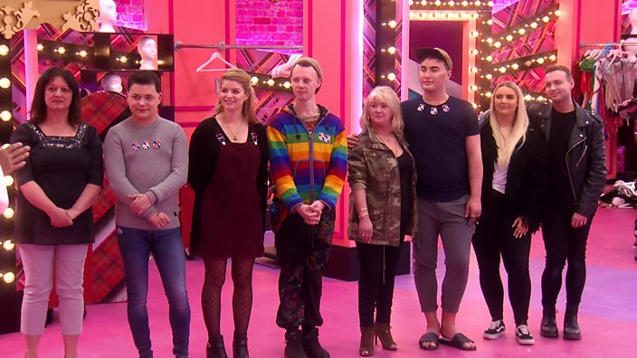 Drag Race UK contestants with ...
