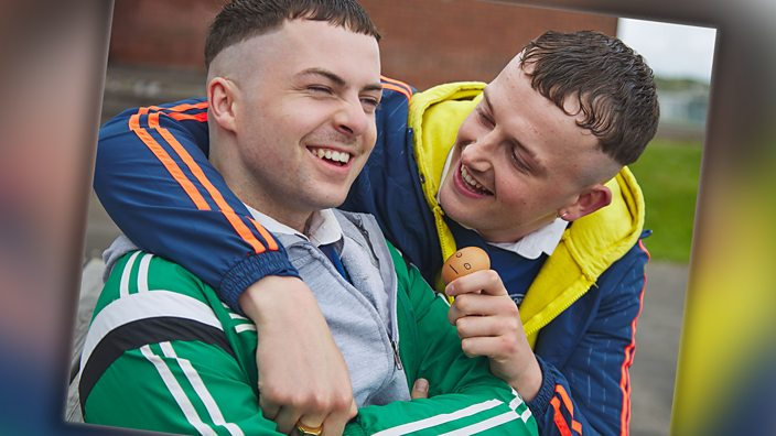 The Young Offenders with an eg...
