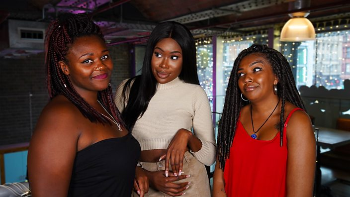 Oloni with Tyler and Yazmine