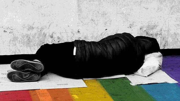 LGBT homeless sleep