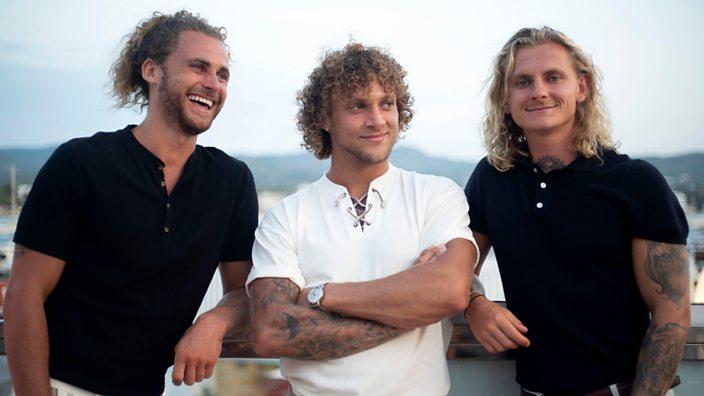 Liam, George and Callum