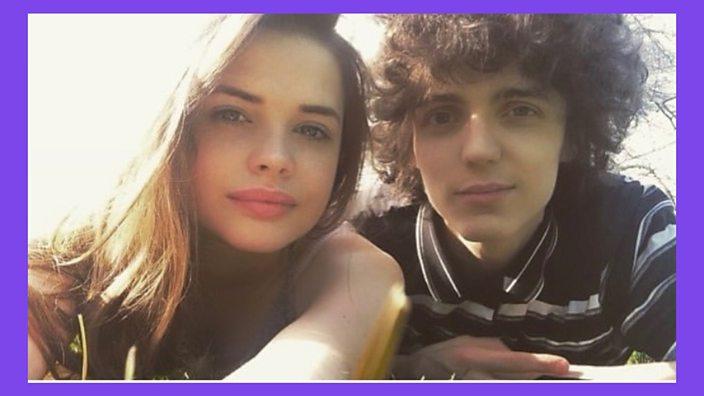 Selfie of Aimee and Sean
