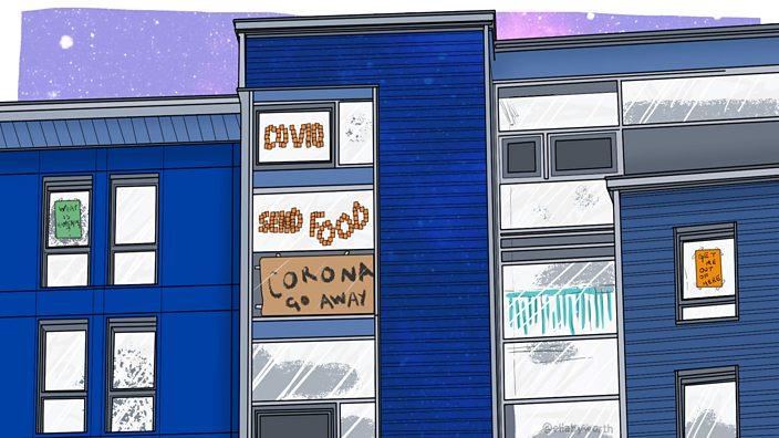 Signs in Windows illustration