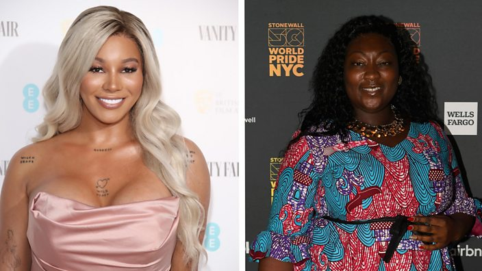 Munroe Bergdorf and Lady Phyll