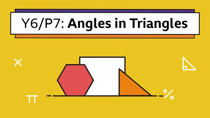 Triangles in Yellow can/'t be missed,