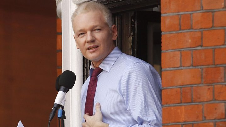 Julian Assange should be allowed to go free, UN panel finds