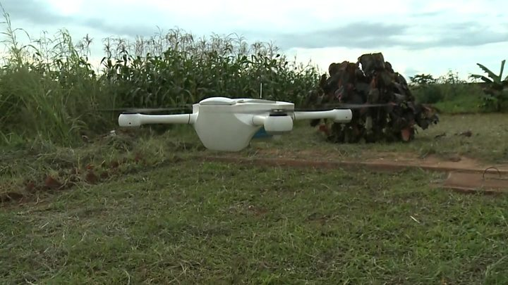 Using drones to save lives in Malawi