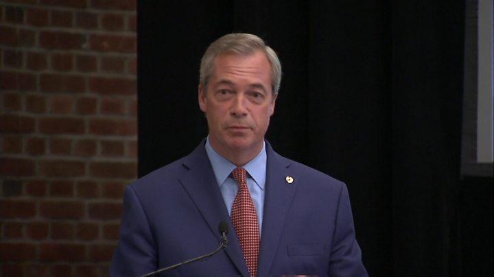 788890c3bc5a UKIP leader Nigel Farage stands down - BBC News
