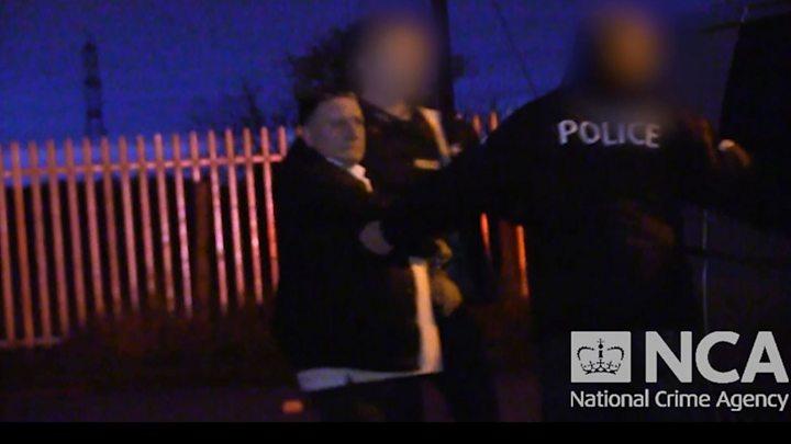 Police raid £1bn drugs ring home