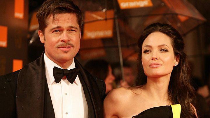 Angelina Jolie To Divorce Brad Pitt Bbc News