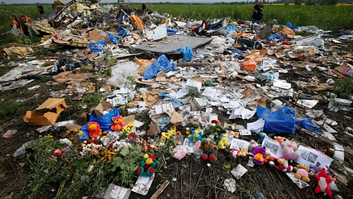 MH17 disaster: Phone-taps 'show Russia directed Ukraine rebels'