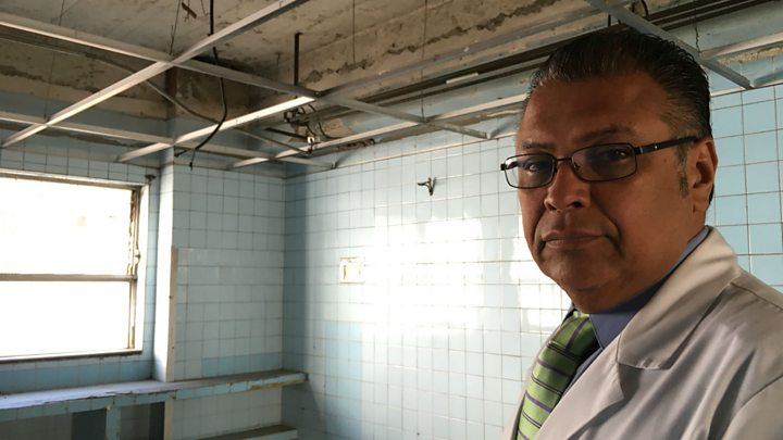 Venezuela crisis: Caracas hospital shows sorry state of health system