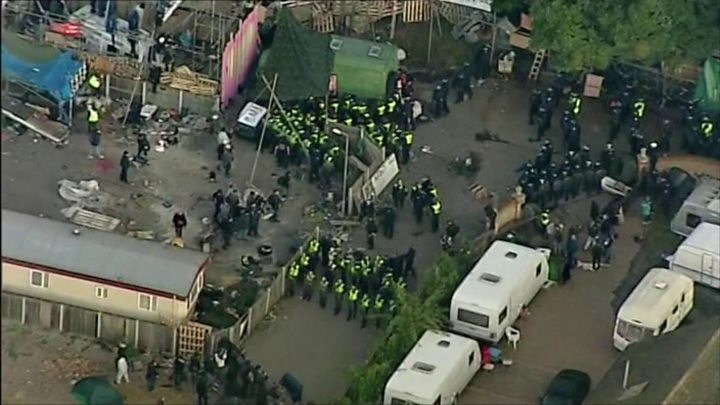 Dale Farm evictions: Five years on - BBC News
