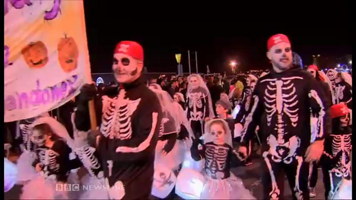 thousands of people attended the halloween festival in derry - What Is Halloween A Celebration Of