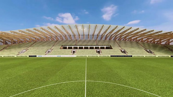 Winning design chosen for new Forest Green Rovers ground ...