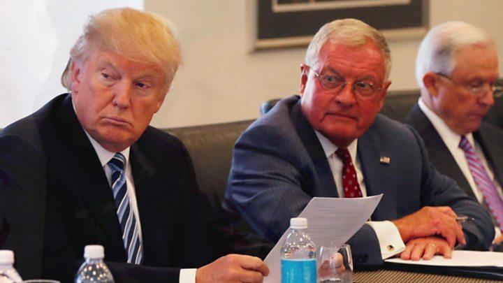 Trump S Presidential Cabinet Takes Shape Bbc News