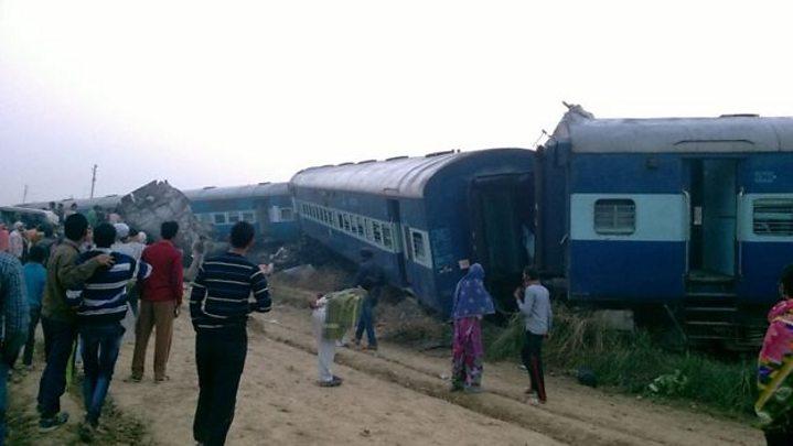 Scores killed in derailment near Kanpur