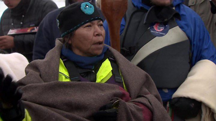 Standing Rock: US veterans join North Dakota protests
