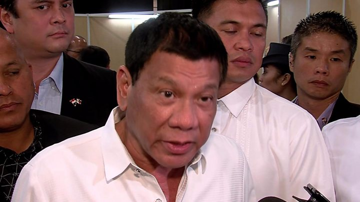 Philippine president says he once stabbed a person to death