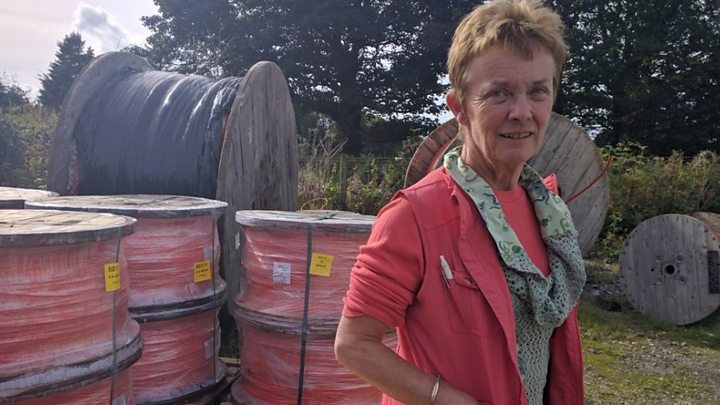 The farmer who built her own broadband