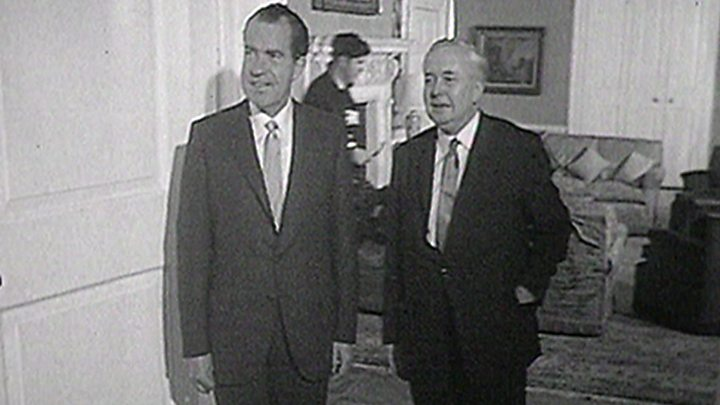 First Meetings Us Presidents And Uk Prime Ministers Bbc News